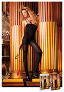 Opaque Bodystocking Black (disc)