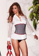 Suit Inspired Cincher Grey Xl