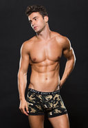 Logo Elastic Boxer Brief S/m Green Camo