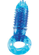 O Yeah Silicone Cock Ring Waterproof Blue