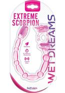 Wet Dreams Xtreme Vibrating Scorpion Silicone Cock Ring...