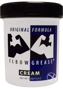 Elbow Grease Original Formula Cream Lubricant 4 Ounce