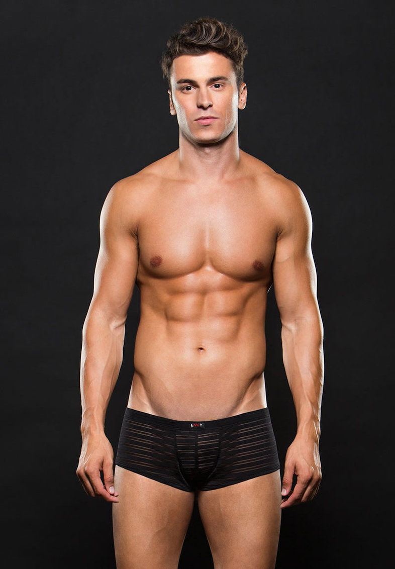 Microfiber Trunk S/m Stripe Black