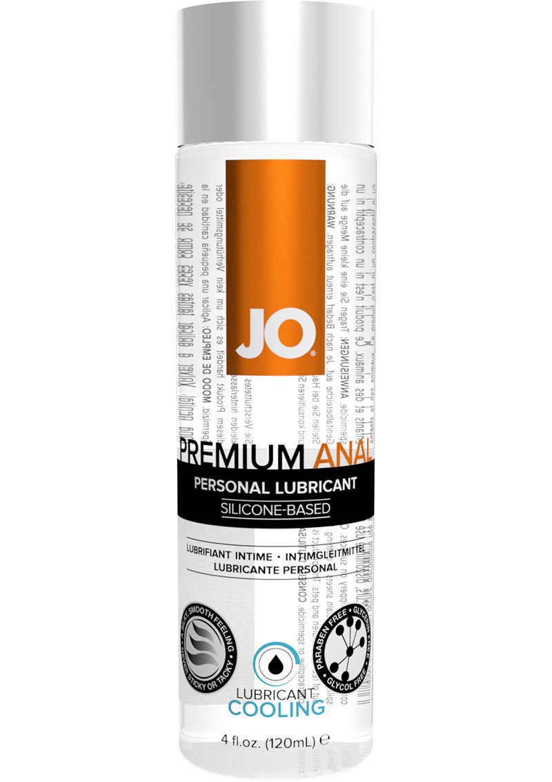 Jo Anal Premium Cool Silicone Lubricant 4 Ounce