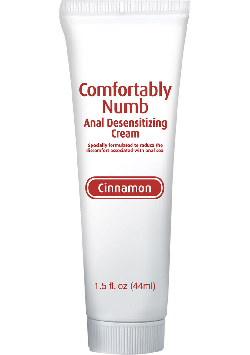 Comfortably Numb Anal Desensitizing Cream Cinnamon 1.5 Ounce