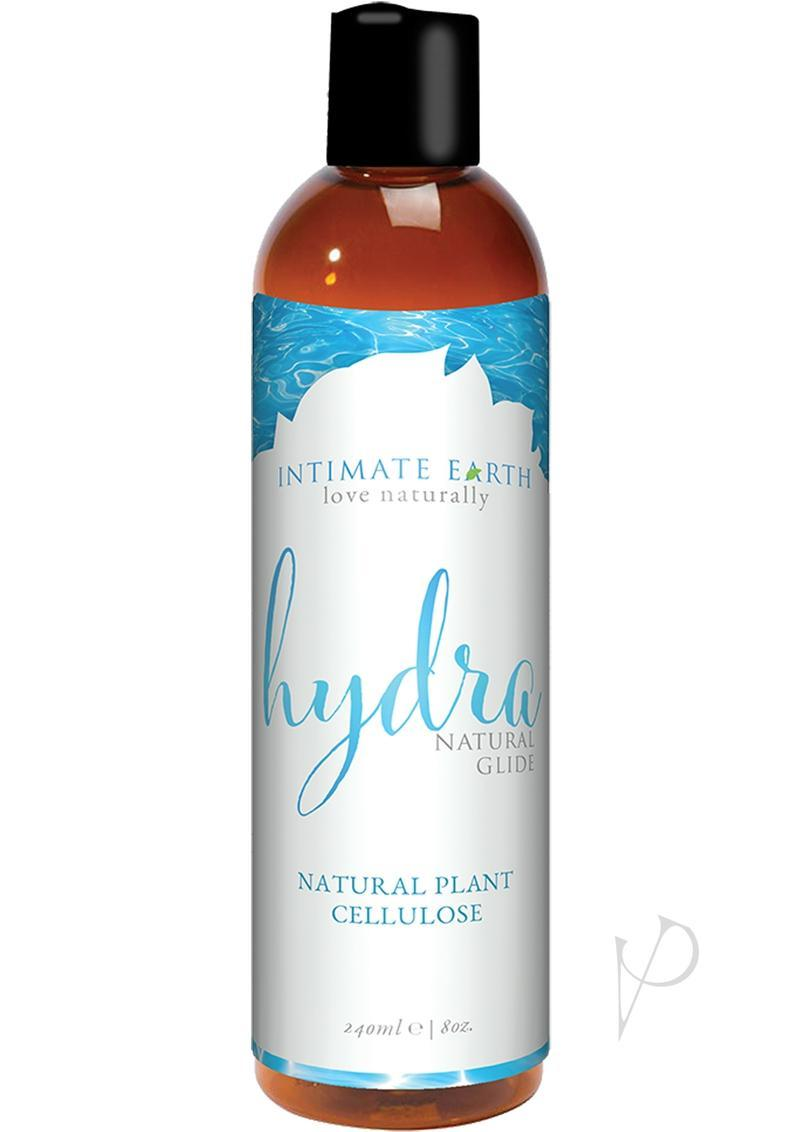 Intimate Earth Hydra Natural Glide Water Based Natural Plant Cellulose Lube 8 Ounce