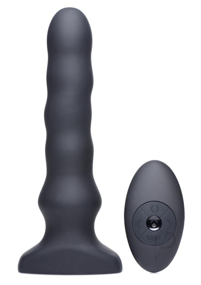 Thunder P Vibe And Squirm Plug Anal Plug Multi Function Silicone Waterproof
